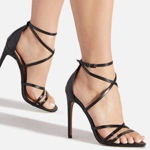 Grace Strappy Stiletto Heel from Size 8.5